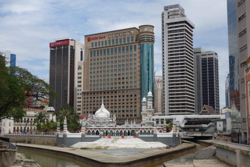 Die Masjid Jamek Moschee: keine Moschee in Malaysia ist älter.